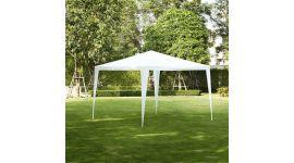 Partyzelt-3x3m-PE-160-gr/m2-weiß
