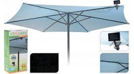 Solarbeleuchtung-Sonnenschirm