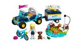 Lego Stephanies Cabrio mit Anhänger - 41364