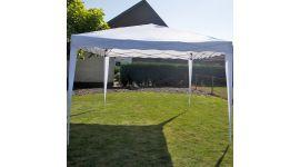 Easy-up Partyzelt 3x3m PE 250 gr/m2 weiß