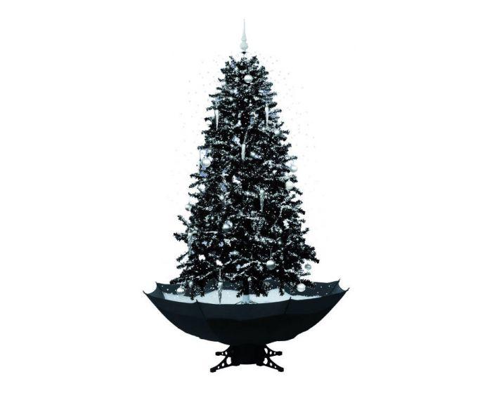 Schneiender Weihnachtsbaum Schwarz 170cm