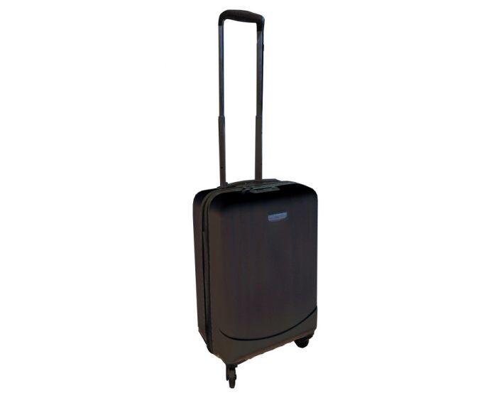 Koffer 35 Liter schwarz (geeignet für das Handgepäck)