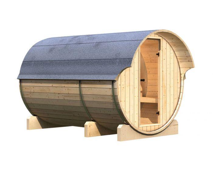 interline kotka 3 sauna set 205x285x216. Black Bedroom Furniture Sets. Home Design Ideas