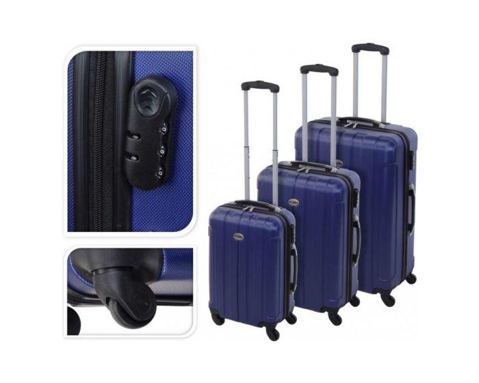 Koffer blau - 35 Liter