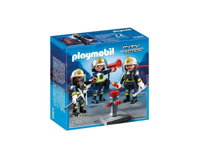 Playmobil Trio Feuerwehrleute - 5366