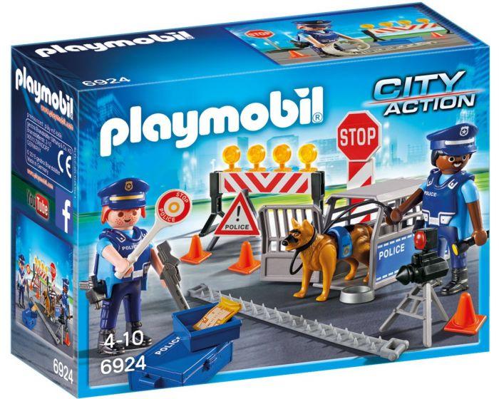 Playmobil Straßensperre - 6924