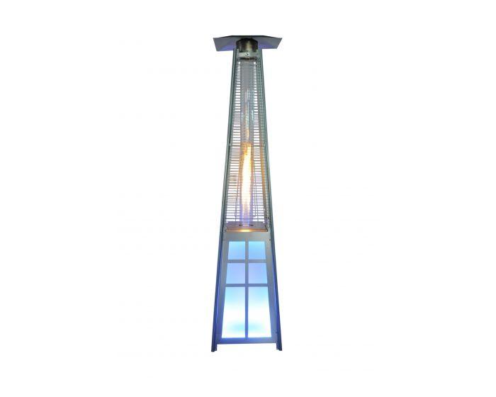 Terrassenheizer Pyramide de Luxe LED