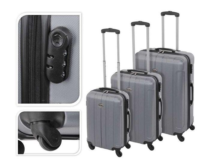 Koffer Silber - 97 Liter
