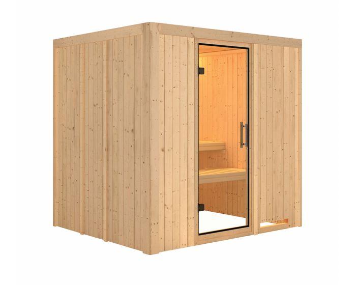 interline kuha sauna set 200x170x200. Black Bedroom Furniture Sets. Home Design Ideas