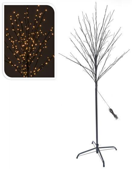 Weihnachtsbeleuchtung Led Baum.Led Baum 200 Lämpchen Warmweiß 150 Cm