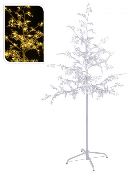 Weihnachtsbeleuchtung Led Baum.Led Baum 120 Led Warmweiß 150 Cm