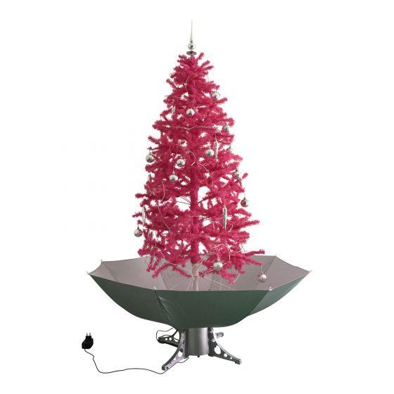 Schneiender Weihnachtsbaum.Schneiender Weihnachtsbaum Rosa 180cm