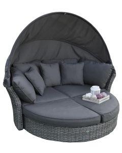 Elegant Sonneninsel & Loungebett Pure Garden & Living
