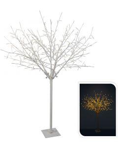 Baum mit Zweigen weiß 304LED warm weiß 150 cm