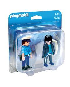 Playmobil - Duopack Polizist und Dieb
