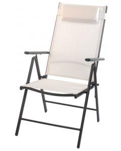 Klappstuhl hoch Weiß