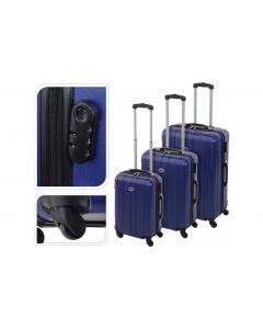 Koffer blau - 61 Liter