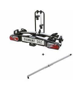 Pro-User Diamant SG2 Fahrradträger + Auffahrrampe