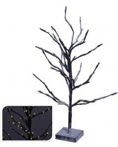 Baum 72LED warm weiß 60 cm braun