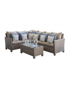 Garten Loungemöbel Polyrattan Set