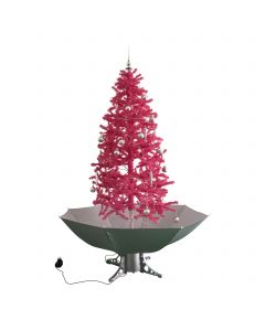 Schneiender Weihnachtsbaum Rosa 180cm
