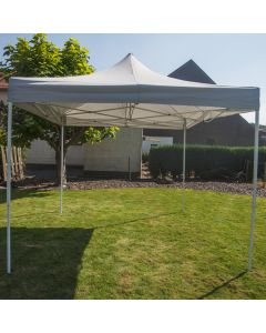Easy-up Partyzelt 3x3m Luxus PE 250 gr/m2