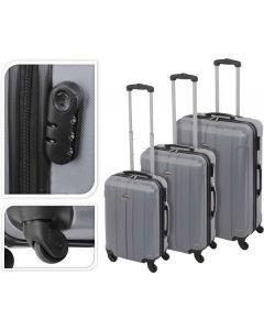 Koffer Silber - 61 Liter