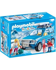 Playmobil Family Fun - 4x4 mit Dachkoffer 9281