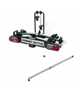 Pro-User Diamant SG2 Plus Fahrradträger + Auffahrrampe