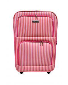 Koffer mittel mit Streifendesign 54 Liter