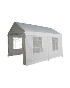 Partyzelt 3x4 m weiß mit Seitenwänden Pure Garden & Living