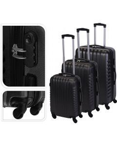 Koffer schwarz - 61 Liter