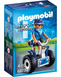 Playmobil Polizistin mit Balanceracer - 6877