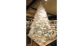 Weihnachtsbaum 150 cm Deluxe weiß