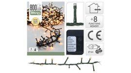 Clusterbeleuchtung 800 LED Lämpchen