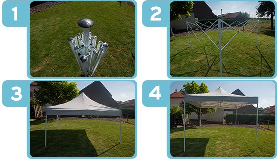 Easy up partytent